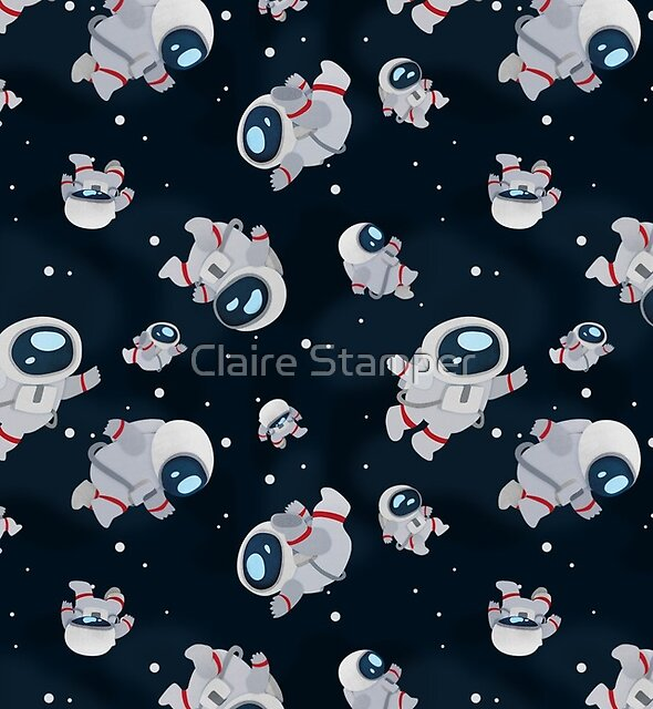 Floating Astronauts by Claire Stamper