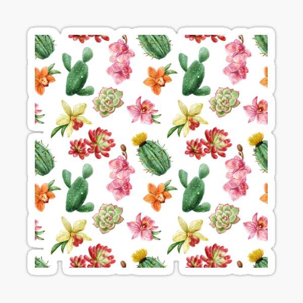 Opuntia Cactaceae Sticker