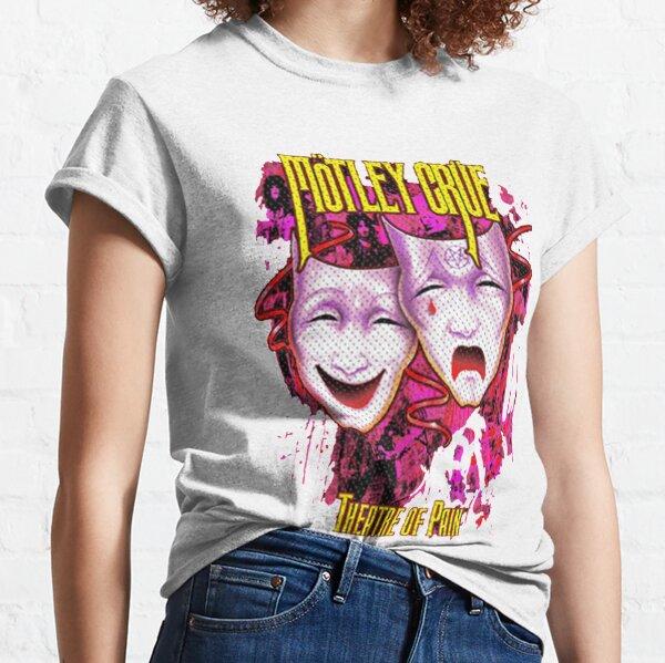 Motley Crue Band Rock T-shirt classique