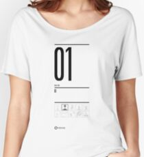 TEST 01 Women's Relaxed Fit T-Shirt