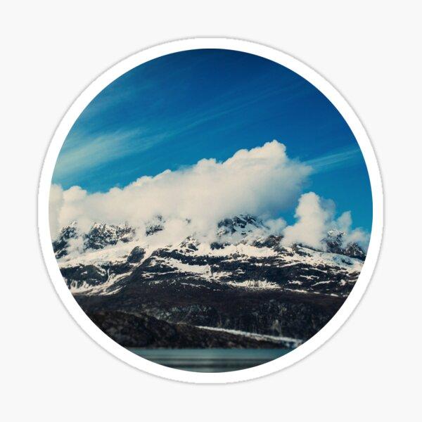 Alaska Mountain Sticker