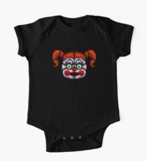 BABY - FNAF Sister location - Pixel Art One Piece - Short Sleeve
