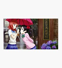 Love Live! School Idol Project - Rainy Day Photographic Print