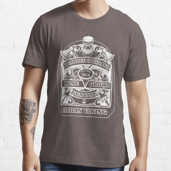 Bearded and badass Essential T-Shirt