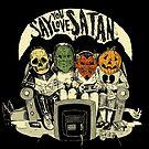 Say You Love Satan 80s Horror Podcast Logo by sayyoulovesatan