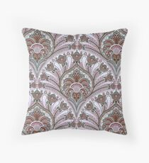Fabric Art, Pattern, Tapestry, India, Moroccan Style Throw Pillow
