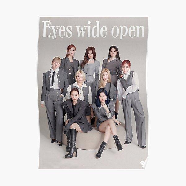 Twice - Eyes Wide Open Poster