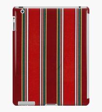 Muster, geometrische Tribal, breite, vertikale Streifen iPad-Hülle & Klebefolie