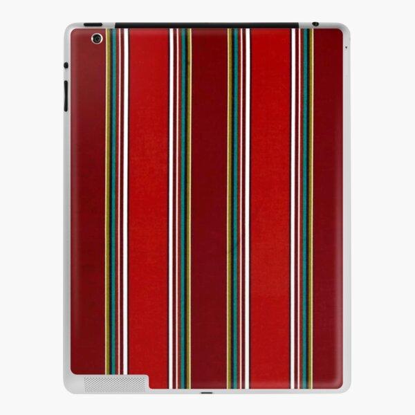 Pattern, Geometric Tribal, Wide Bold Vertical Stripes iPad Skin