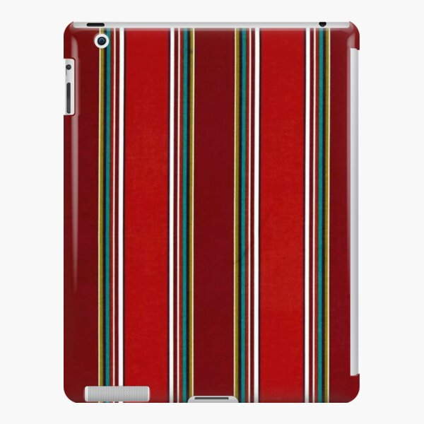 Pattern, Geometric Tribal, Wide Bold Vertical Stripes iPad Snap Case