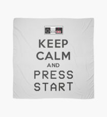 KEEP CALM AND PRESS START Scarf