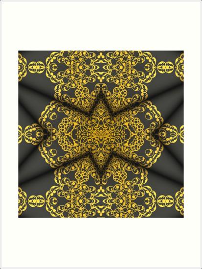 Elegant mandala  2 by JBJart
