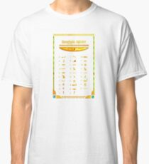 Egyptian Alphabet Classic T-Shirt