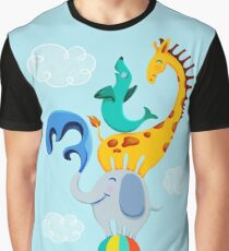 Circus Animals  Graphic T-Shirt