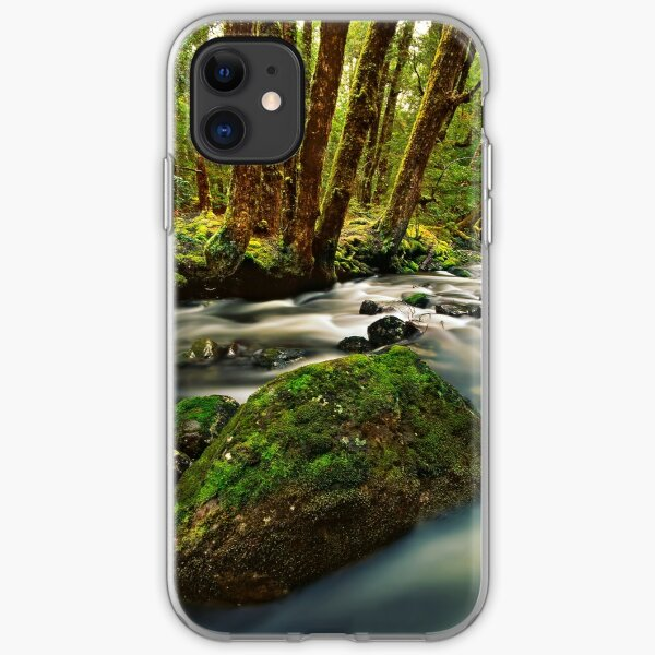 Little Fisher River iPhone Soft Case