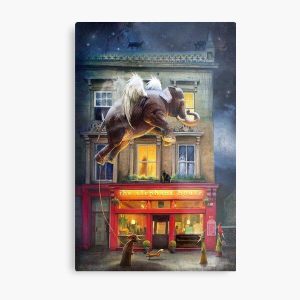 """The Elephant House"" Metal Print"
