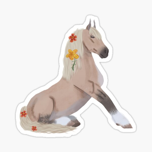 Forester Horse Star Stable Online  Sticker