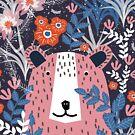 Bear Garden by elenor27