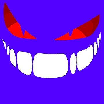 Creepy Smirk by MinikinQP