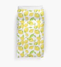 Lemon citrus pattern Duvet Cover