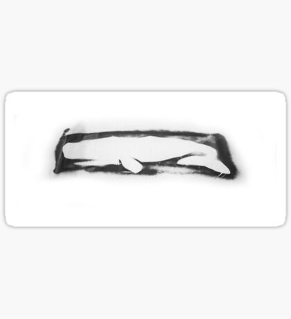 Artifice Whale Sticker
