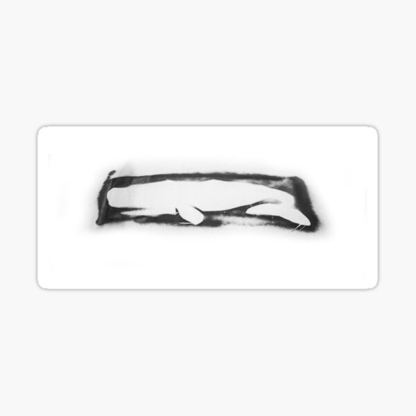 Artifice Whale Sticker
