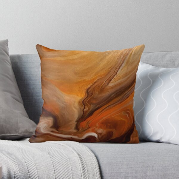 Falling In Love With Fall Throw Pillow