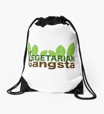 Vegetarian Gangsta Drawstring Bag