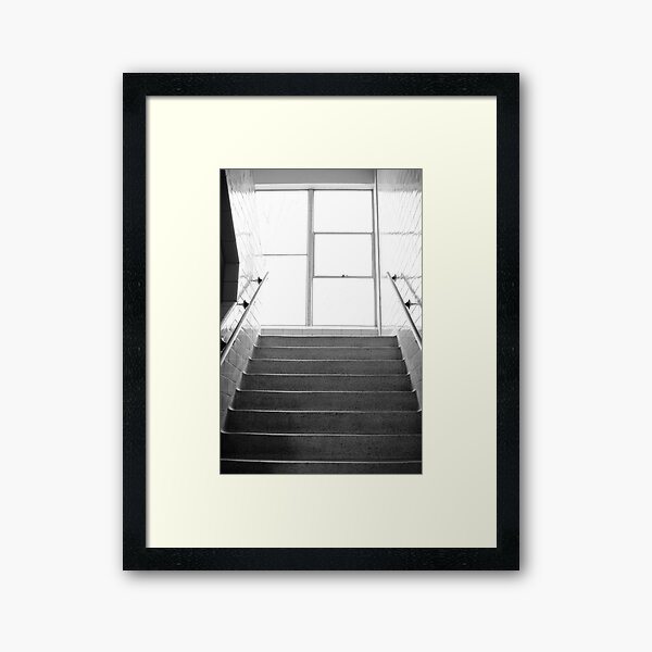 Lit' Case - A Lovers' Encounter Framed Art Print
