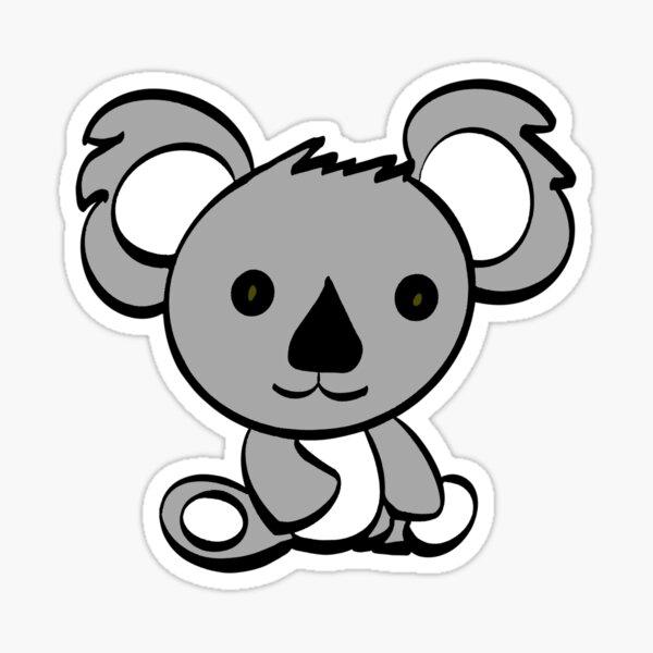 Kobe the Koala Sticker