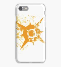 Pokemon Sun Logo - Spray iPhone Case/Skin