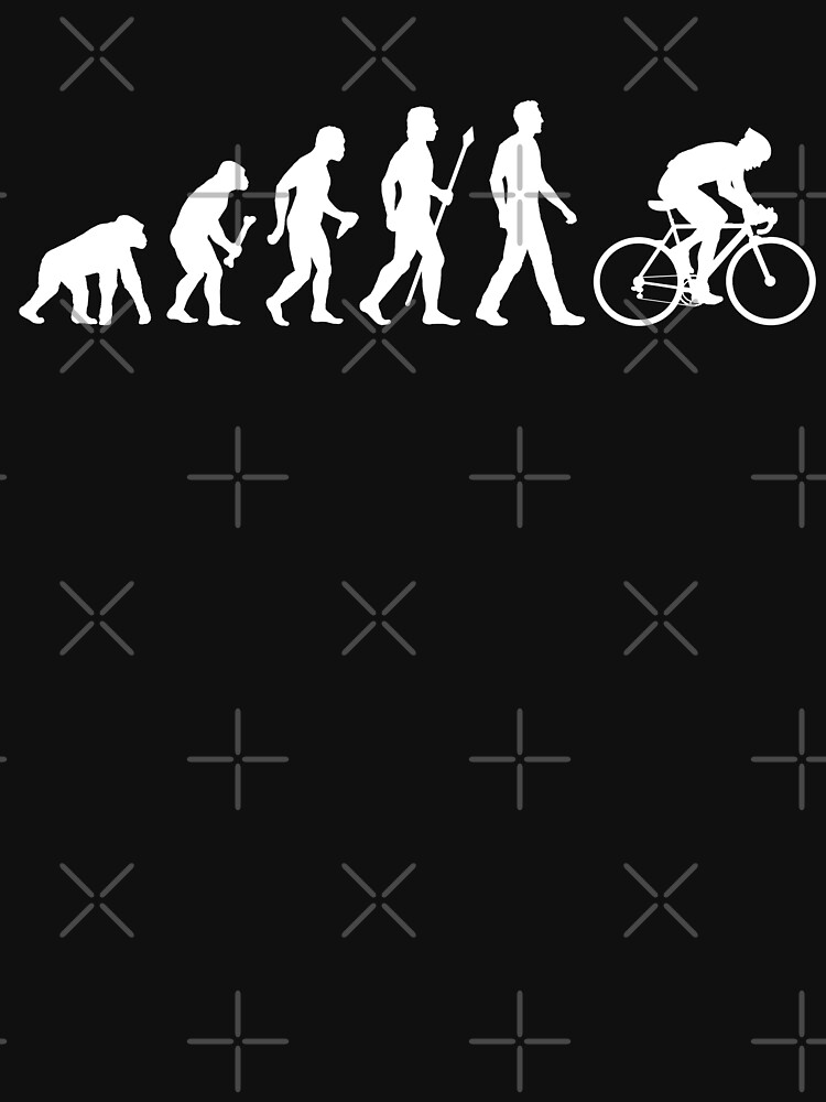 Evolution Of Man Cycling by BeyondEvolved