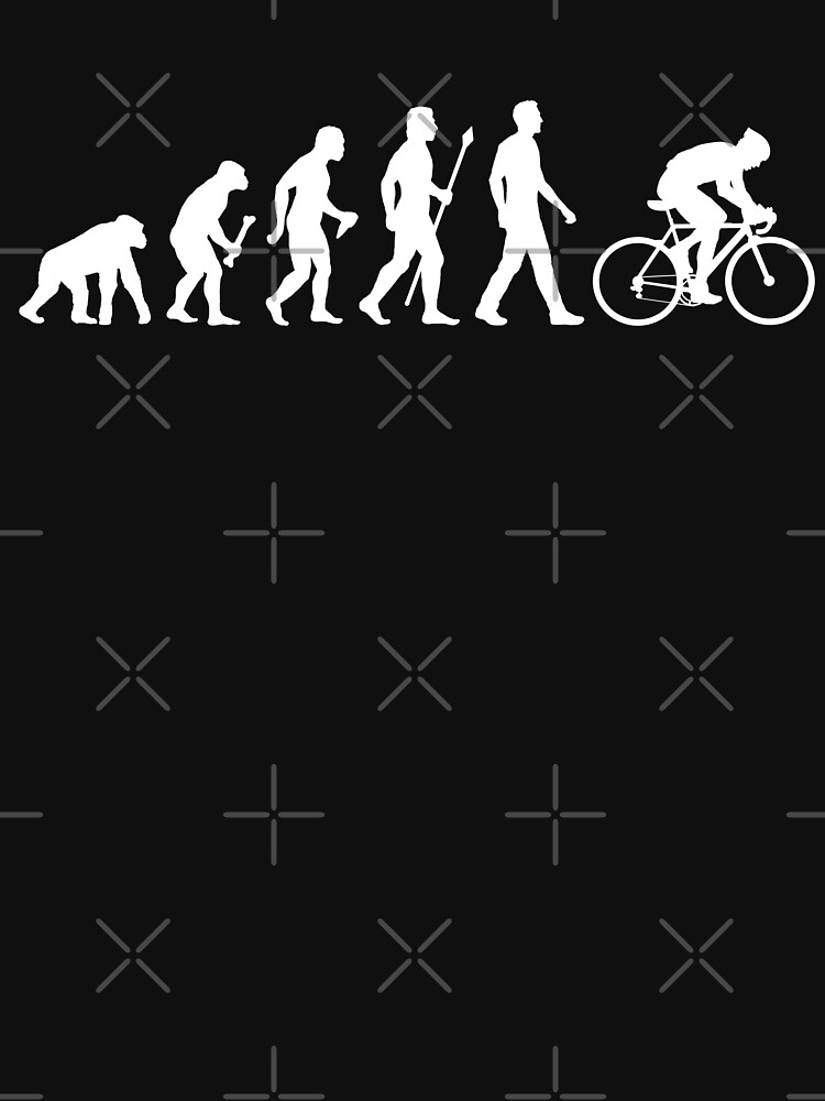 Evolution Of Man Cycling | Unisex T-Shirt