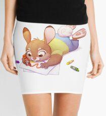Crayon Bunny Mini Skirt