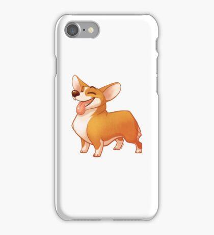 Happy Corgi iPhone Case/Skin