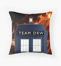 team drw cover photo Throw Pillow