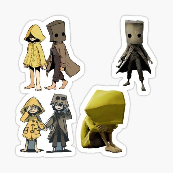 little nightmare, six mono  sticker pack Sticker