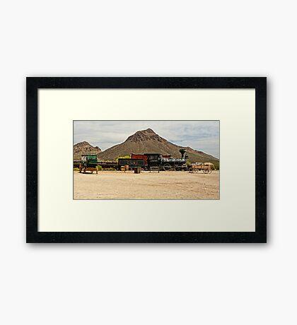 Old Tucson Scene Framed Print