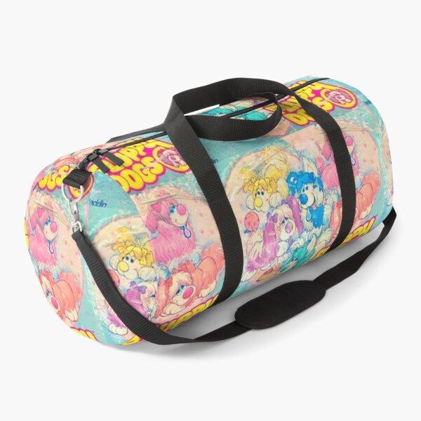80s aesthetic floppy dogs Duffle Bag