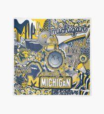 Michigan Collage Scarf
