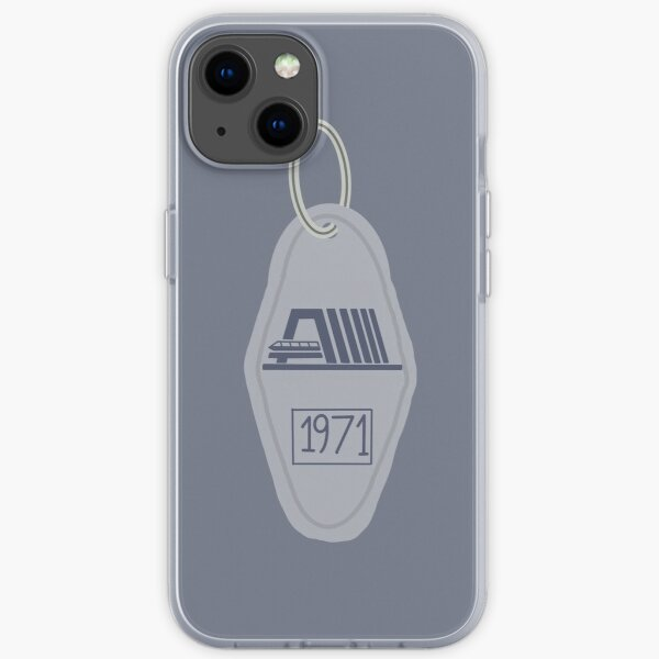 Contemporary Key Chain iPhone Soft Case