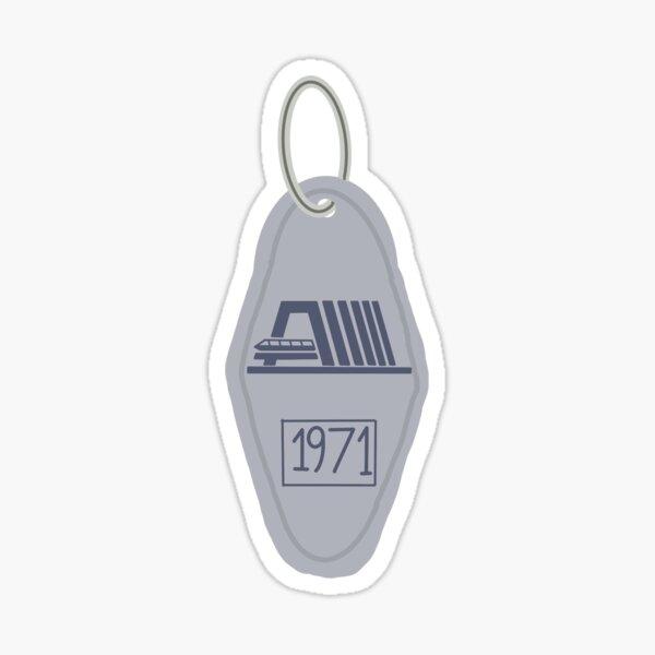 Contemporary Key Chain Sticker