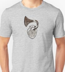 Record Heart Unisex T-Shirt