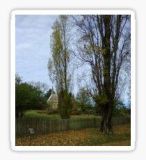 Autumn  Hill End nsw Sticker