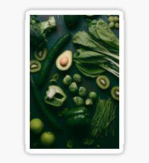 Green food Sticker