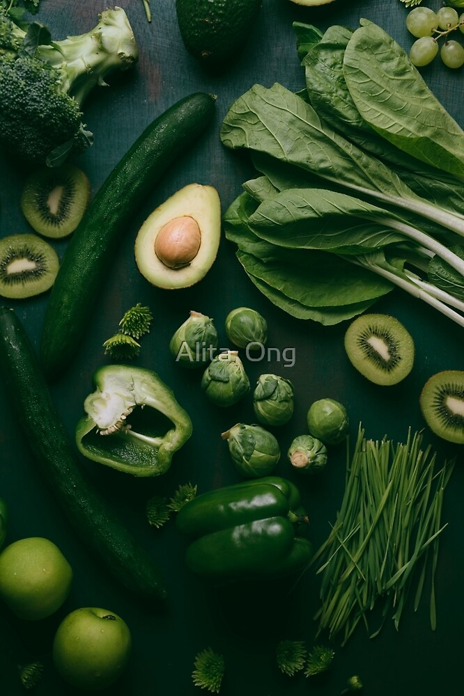 Green food by Alita  Ong
