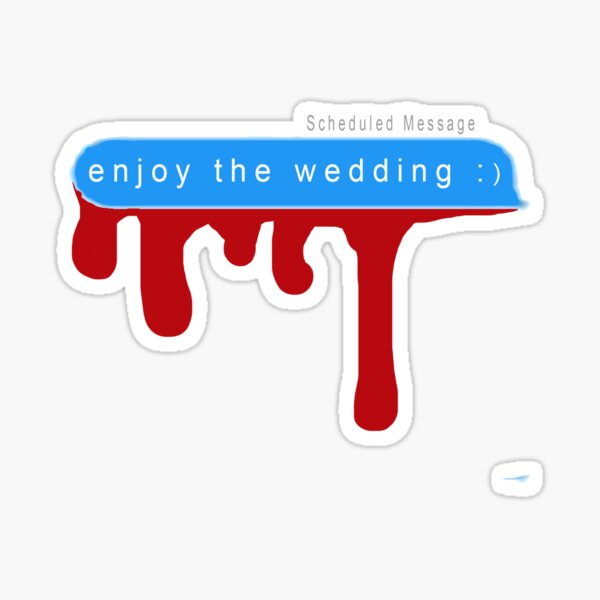 A Promising Young Woman Text Message Design Sticker