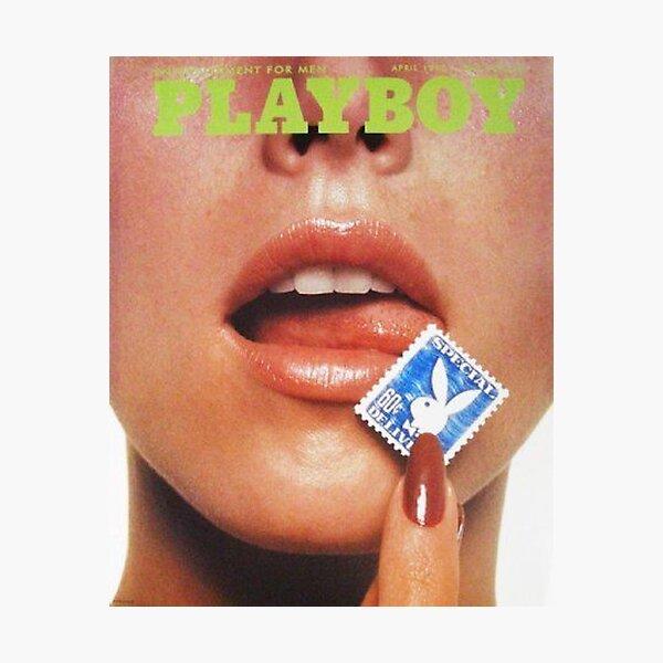 playboy aesthetic retro print Photographic Print