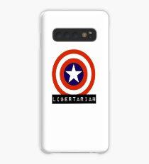 Libertarian America Capitalism Shield Freedom Case/Skin for Samsung Galaxy