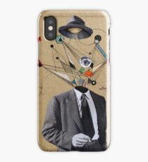 the man who questioned everything iPhone Case/Skin
